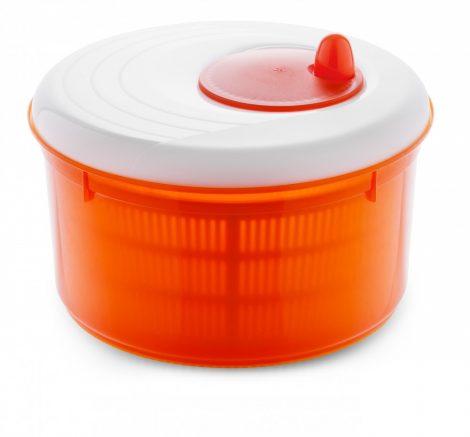 Meliconi SPRING saláta centrifuga 24cm, narancssárga