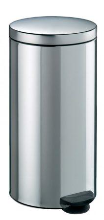 Meliconi INOX pedálos szemetes, műanyag betéttel 30l
