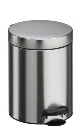 Meliconi INOX pedálos szemetes, műanyag betéttel 5l