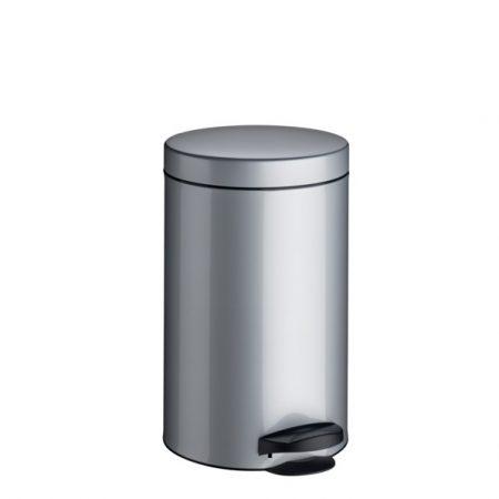 Meliconi INOX pedálos szemetes, műanyag betéttel 14l