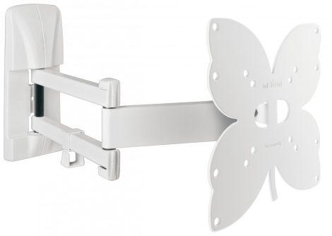 Meliconi Slimstyle 200SDR fehér TV falitartó,TV fali konzol VESA 200