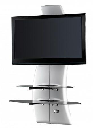 Meliconi Ghost Design 2000 Fehér, fali konzol rendszer