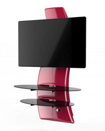 Meliconi Ghost Design 2000 Piros, fali konzol rendszer