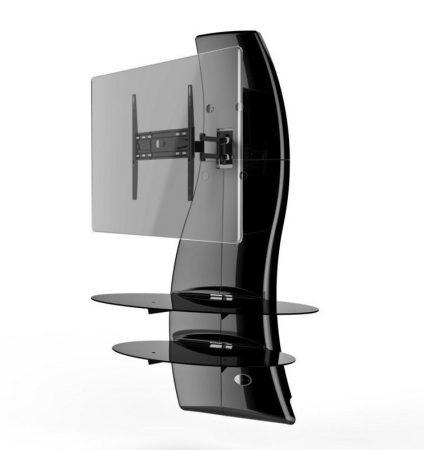 Meliconi Ghost Design 2000 Rotation Fekete, fali konzol rendszer