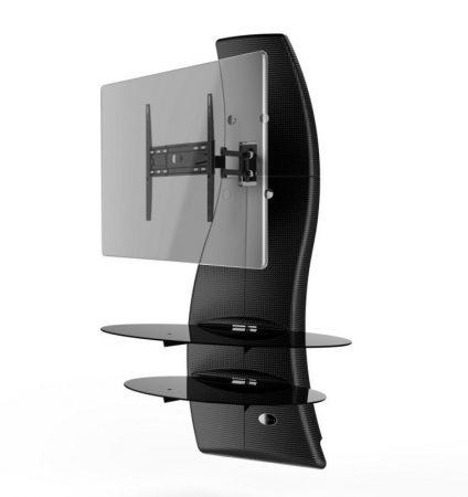 Meliconi-Ghost-Design-2000-Rotation-Karbon-fali-konzol