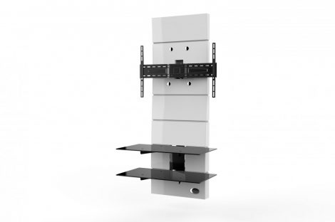 Meliconi Ghost Design 3000 Fehér, fali konzol rendszer