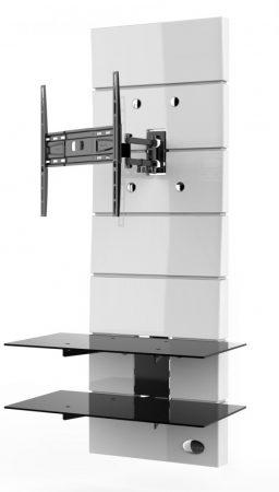 Meliconi Ghost Design 3000 Rotation Fehér, fali konzol rendszer