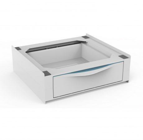 BASE TORRE EXTRA ABS mosógép, szárítógép összeépítő keret kihúzhatól fiókkal