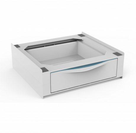 Meliconi BASE TORRE EXTRA ABS mosógép, szárítógép összeépítő keret kihúzhatól fiókkal
