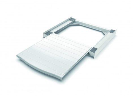 Meliconi BASE TORRE SMART ABS mosógép, szárítógép összeépítő keret kihúzható fiókkal (kopott a csomagolása)
