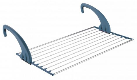 Meliconi LOCK BALCONY aluminium ruhaszárító 10m szárítóhosszal, erkélyre