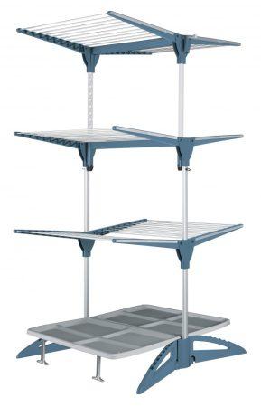 Meliconi Stendimeglio 60 ruhaszárító, 60 méteres szárító hosszal, sötétkék