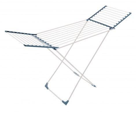 Meliconi LOCK CL ALUMINIUM Aluminium ruhaszárító 22m száríóhosszal összecsukható szárnyakkal
