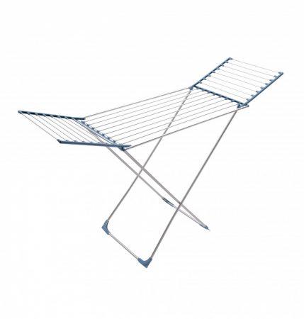 Meliconi LOCK CL INOX Rozsdamentes acél ruhaszárító 22m száríóhosszal összecsukható szárnyakkal